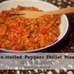 UN-stuffed Peppers (dairy free!)