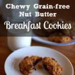 Chewy Grain-Free Nut Butter Breakfast Cookies