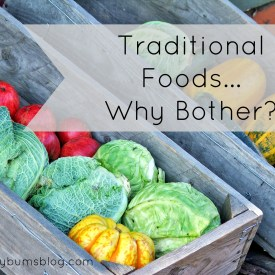 Traditional Foods - Why Bother? || Cheeky Bums Blog
