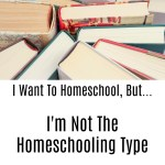 I Want To Homeschool, But…I'm Not The Homeschooling Type