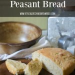 Butter Crisp Peasant Bread