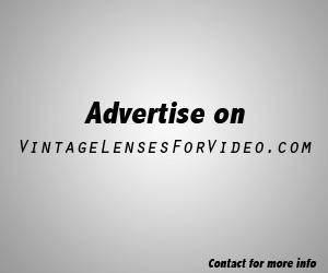 advertise on vintagelensesforvideo.com