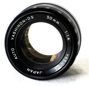 yashica yashinon ds 50mm f/1.4