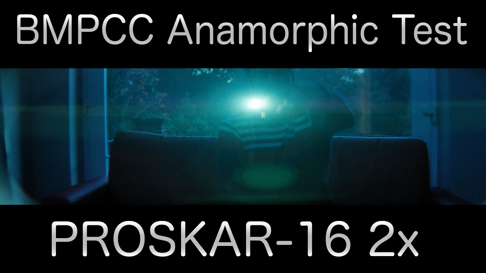 BMPCC Anamorphic Test | Proskar-16 2x