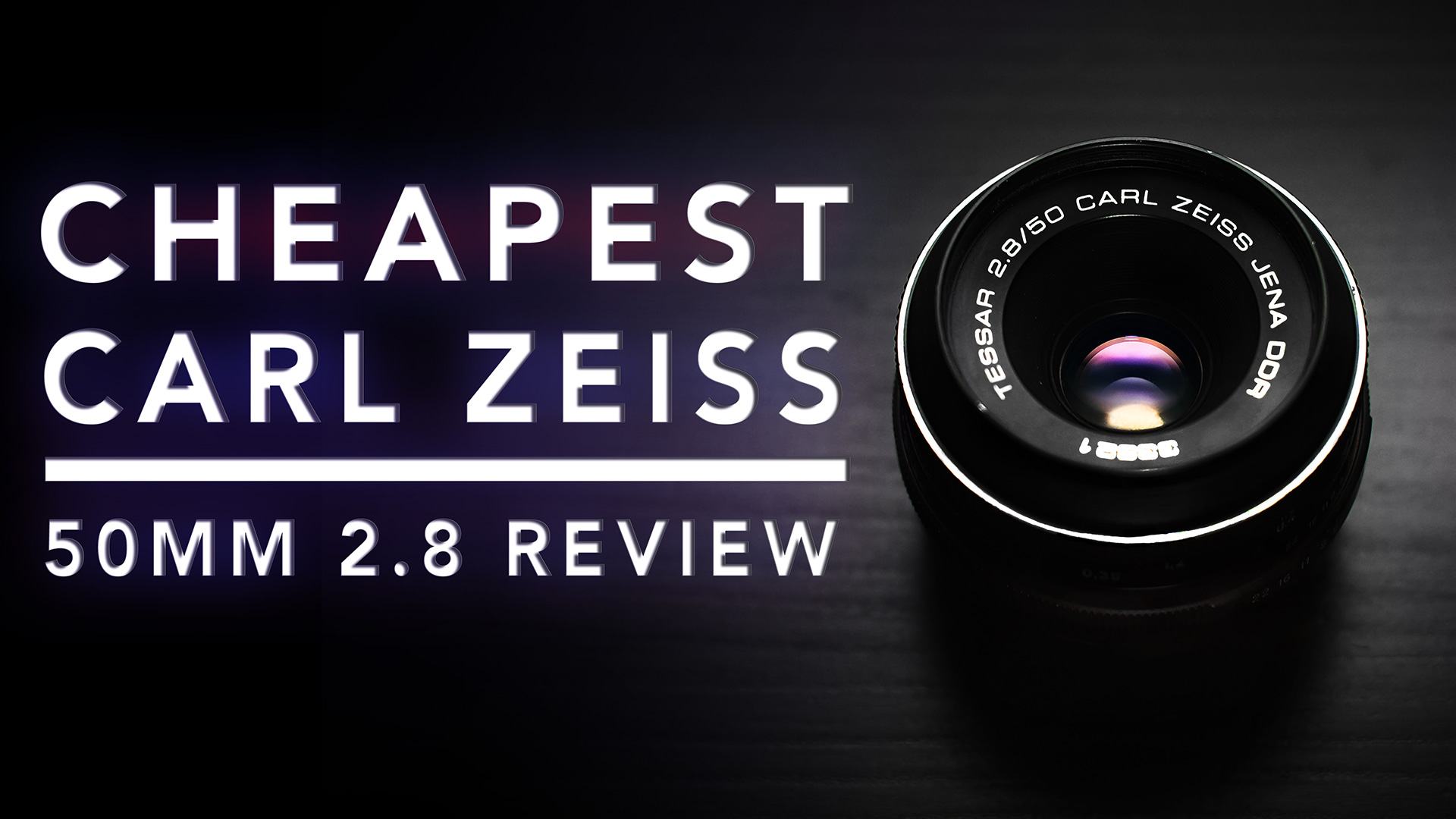 Cheapest CARL ZEISS Lens | 50mm F/2.8 | In-Depth Review