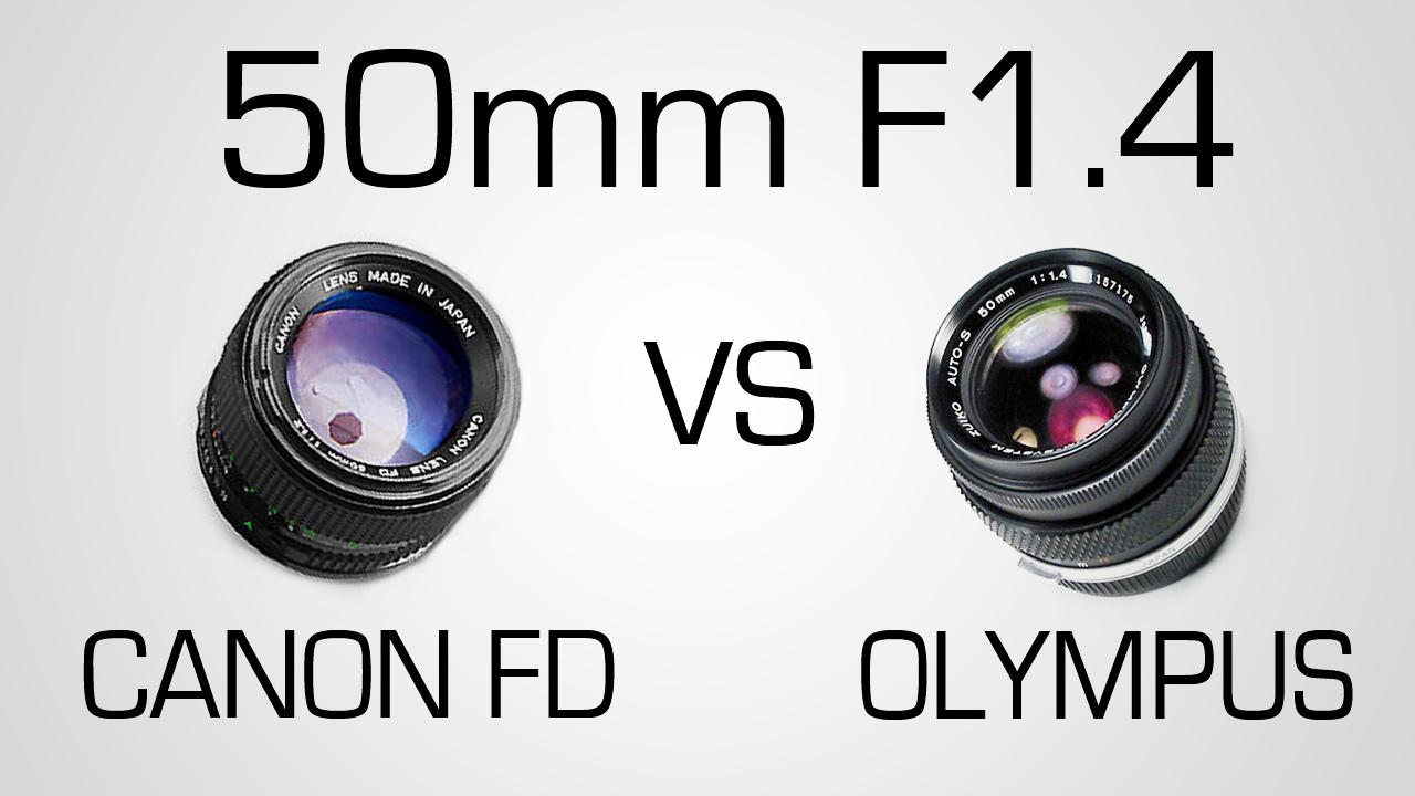 Canon FD VS Olympus Zuiko | Battle of 50mm F/1.4 Primes | Part 2