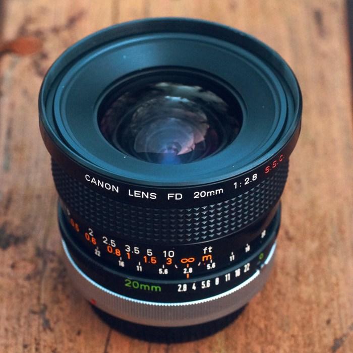 canon fd 20mm