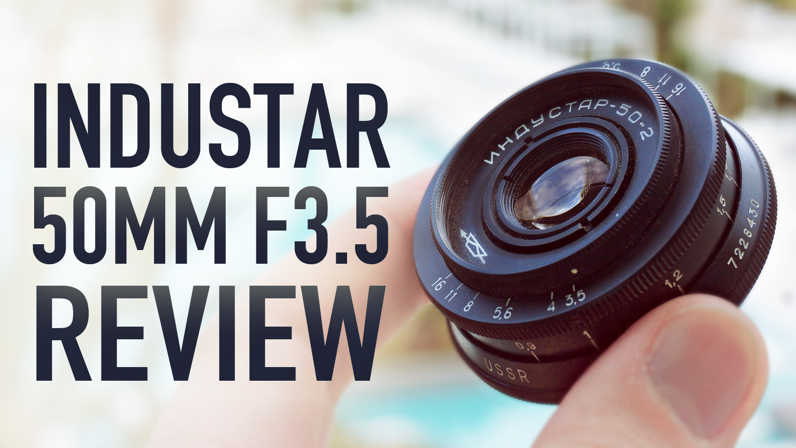 INDUSTAR 50-2 50mm F3.5 Pancake Lens Review