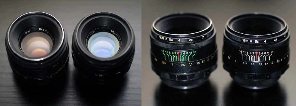Helios-44-2-lenses