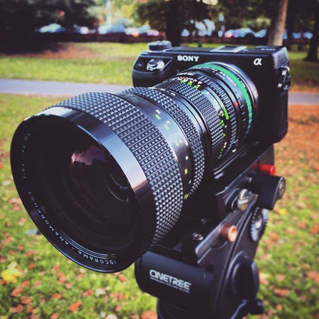 Iscorama42 + Canon FD 50mm F1.4