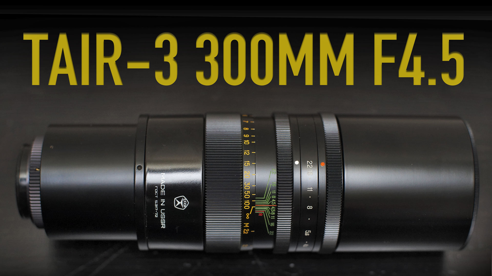 The Russian Tank | TAIR-3 300mm F4.5 Review