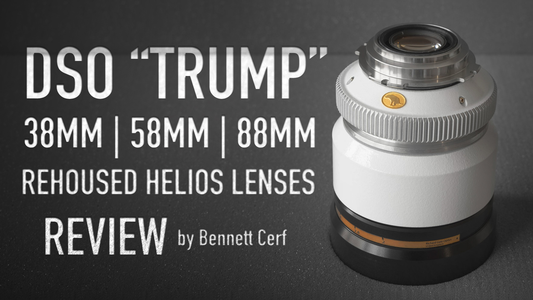 "DSO ""TRUMP"" Rehoused Helios Lenses 