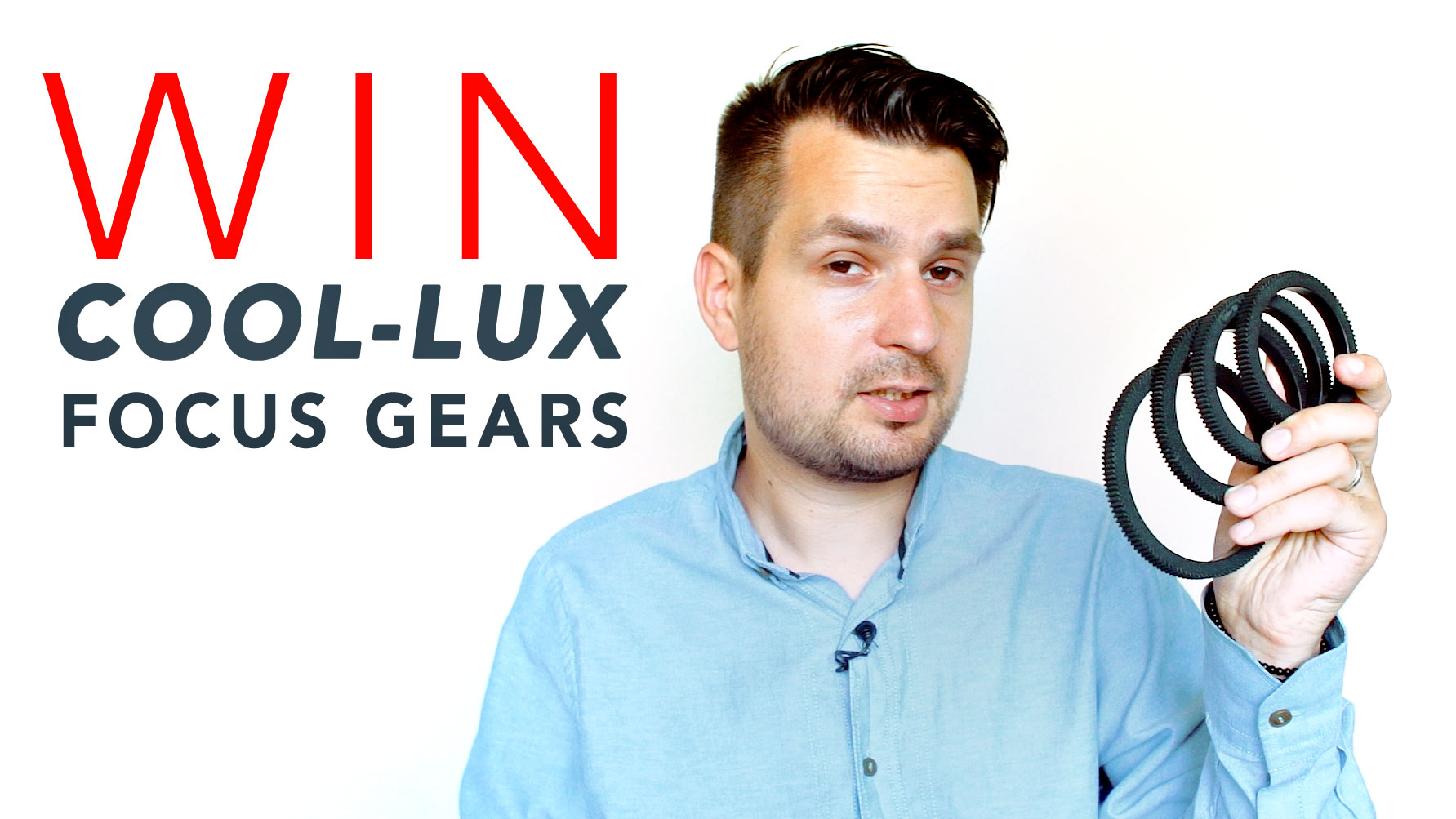 WIN 1 of 3 COOL-LUX Focus Gear Sets | CLOSED