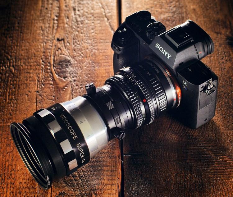 vidoscope+a7sII