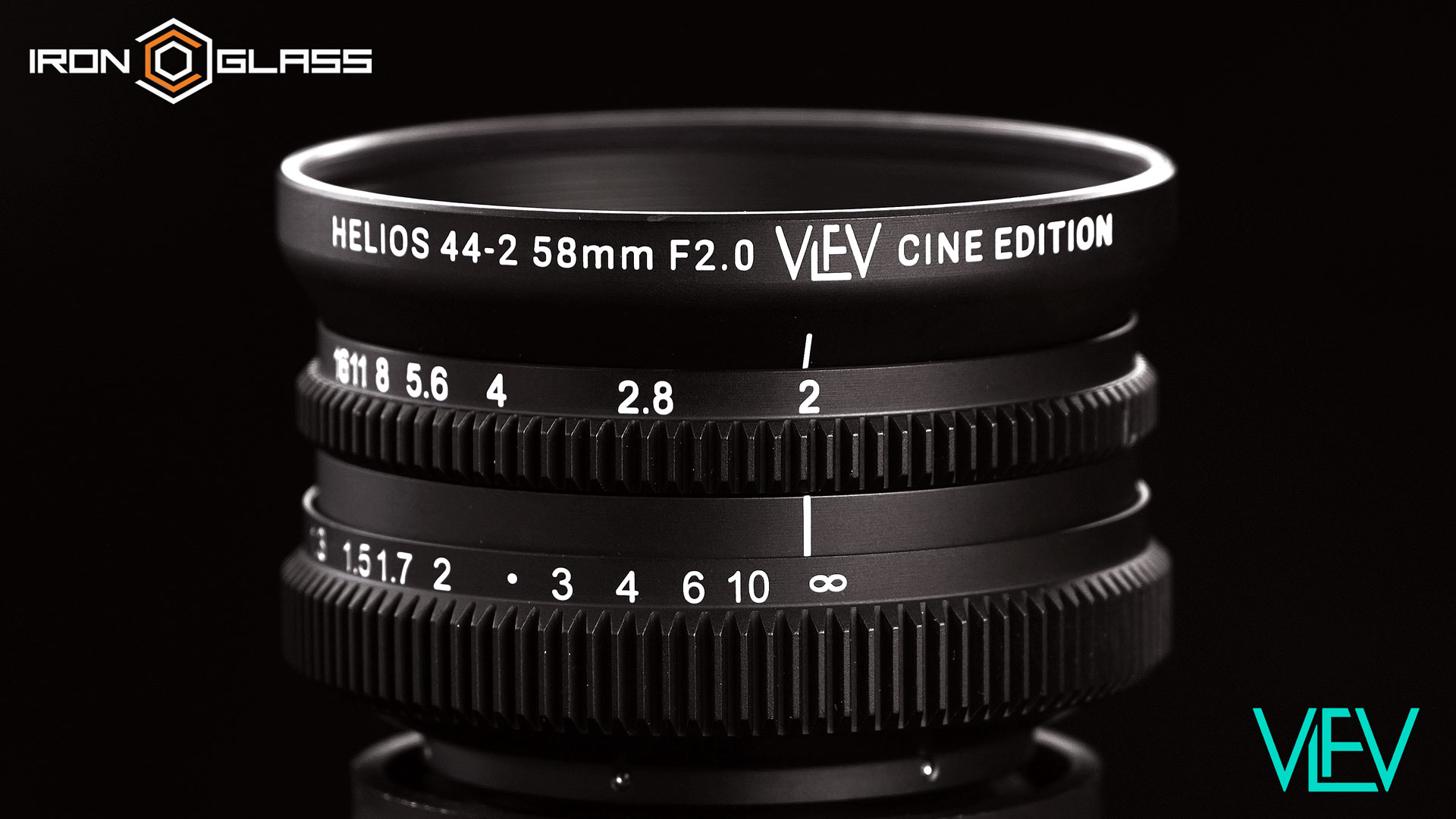 SPECIAL ANNOUNCEMENT: Helios 44-2 VLFV Cine Edition | Rehoused by IronGlass
