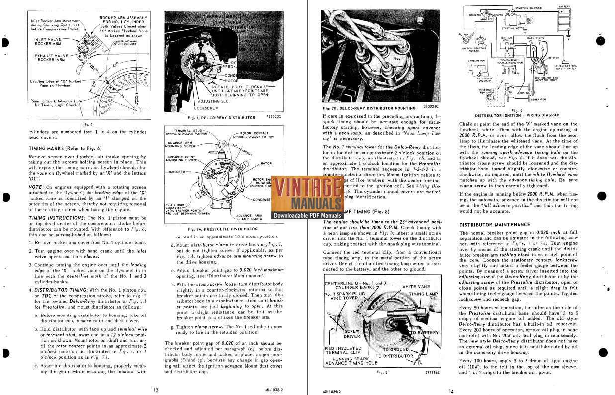 Wisconsin V4 Engine Diagram