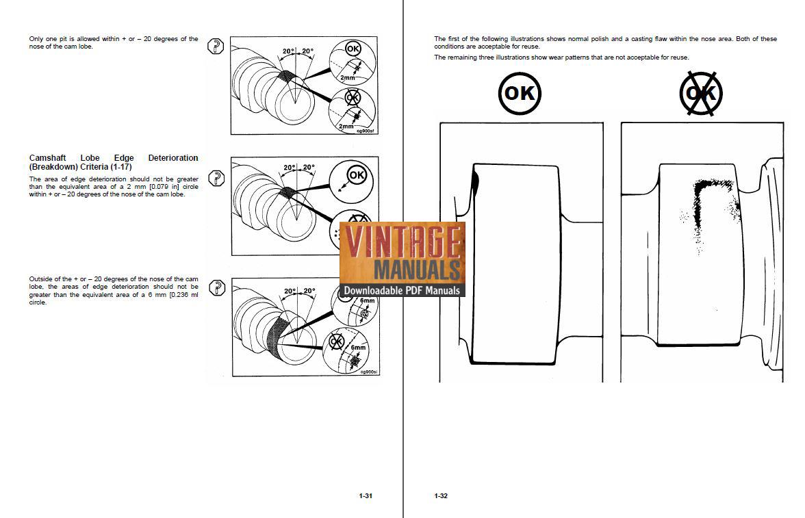 Cummins B5.9 190hp Diesel Engine Shop Rebuild Manual