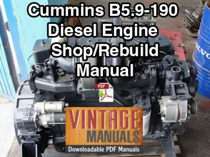 Cummins B5.9 190hp