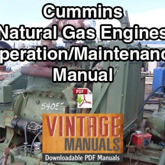 Cummins Natural Gas Engine