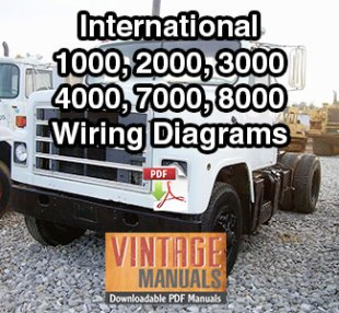 Phenomenal International 9300 Truck Wiring Diagram Pdf 1988 Vintagemanuals Wiring 101 Capemaxxcnl