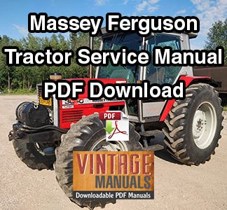 Massey Ferguson Tractor Service Manual PDF Download