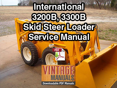 IH-3200B-3300B-Skid-Steer-Loader-Service-Manual