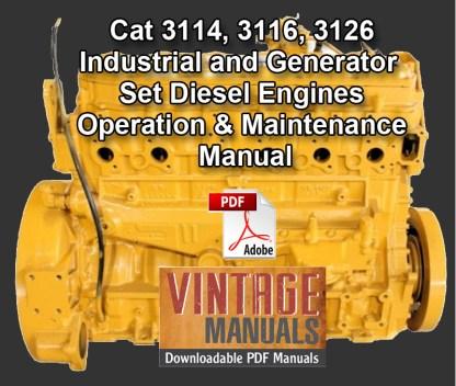 CAT 3114-3126 Generator