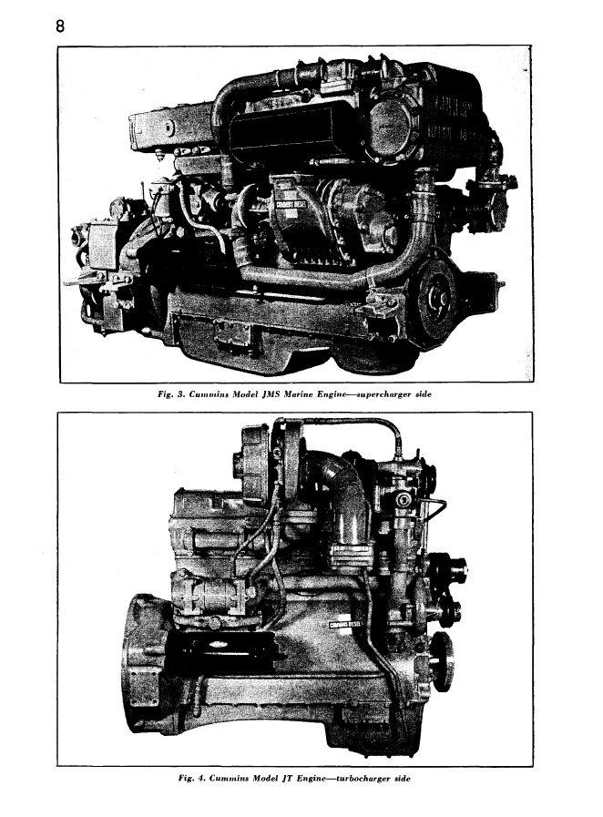 Cummins engines JMS JT