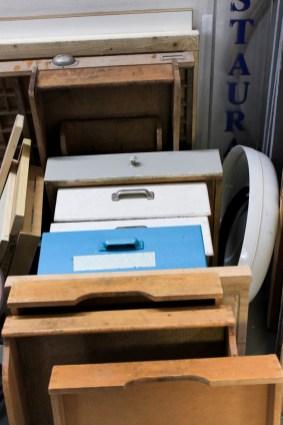 Vintage Schubladen