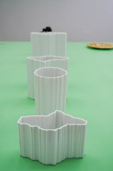 3 x Vase 2873, 1963-1970 and vase Ura, 1961