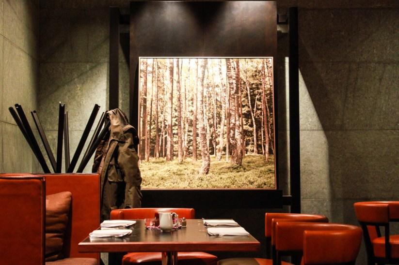Restaurantbereich Hyatt Berlin