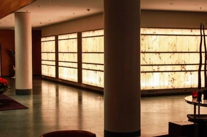 Lichtwand Foyer Hyatt