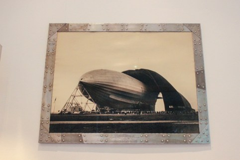 Margaret Bourke White Zeppelin Photo