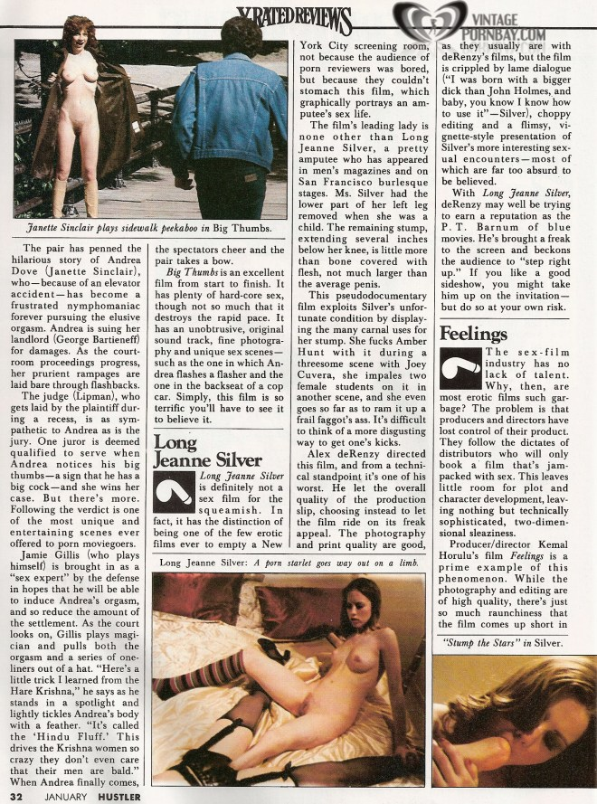 Hustler Magazine ( X-rated reviews) 033