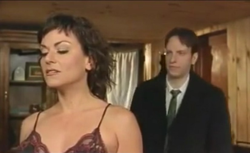 Stepsister seducing stepbrother and they fuck together!