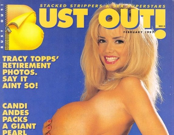 Bust Out [Vintage Porn Magazine] February 1997 [Full Scans]