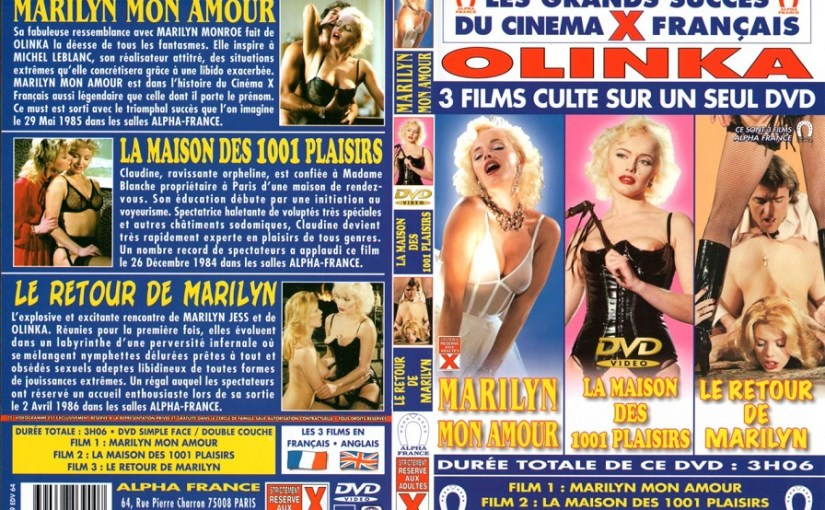 Marilyn mon amour (1982) – Olinka [HQ] [Vintage Porn Movie] [Watch & Download]