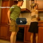 Hot Amateur Stepmommy in her kitchen!