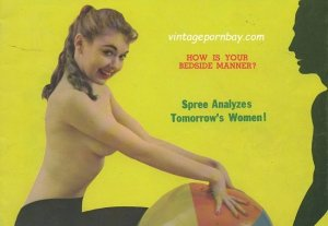Spree Vintage Erotica Magazine Covers 1958-1959 [Full Scans]