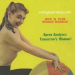 Spree Vintage Erotica Magazine Covers 1958-1959 [Full Scans]