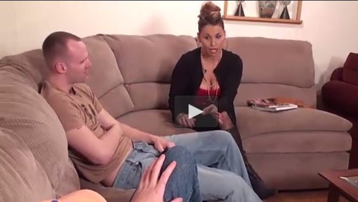 Son Trying to Blackmail Stepmom with his friend