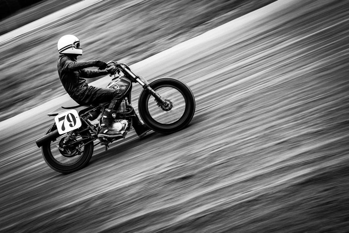 Flat Track - Vintage Racing Spirit - Morgan Bove 1