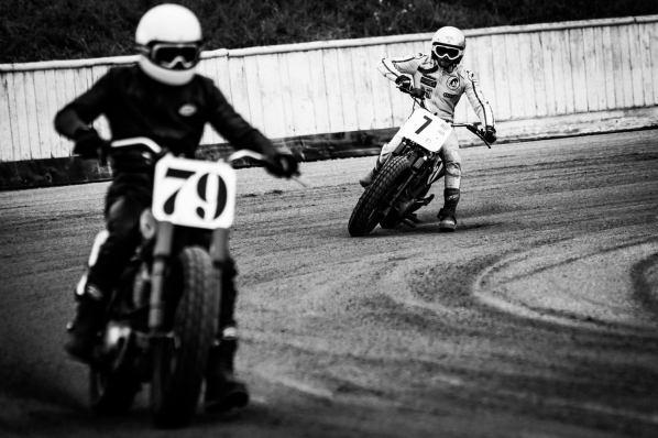 Flat Track - Vintage Racing Spirit - Morgan Bove 7