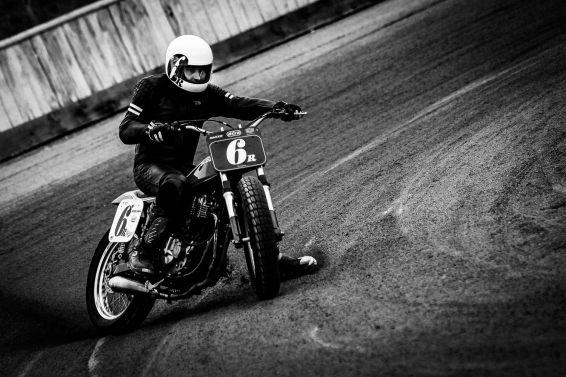 Flat Track - Vintage Racing Spirit - Morgan Bove 22