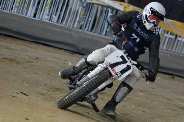Flat Track Indoor - Vintage Racing Spirit - Ian Osborne 8