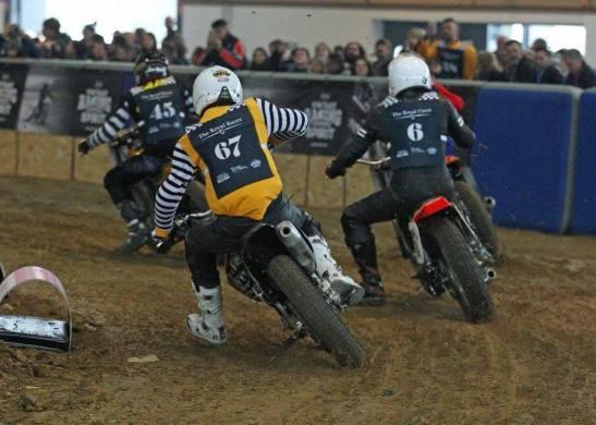 Flat Track Indoor - Vintage Racing Spirit - Ian Osborne 11