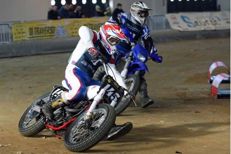 Flat Track Indoor - Vintage Racing Spirit - Ian Osborne 12