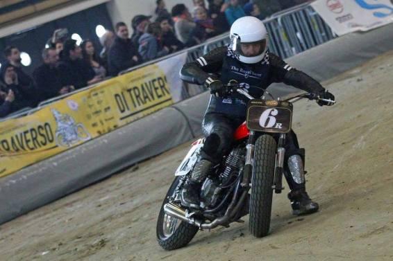 Flat Track Indoor - Vintage Racing Spirit - Ian Osborne 21