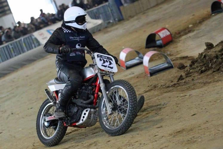 Flat Track Indoor - Vintage Racing Spirit - Ian Osborne 23