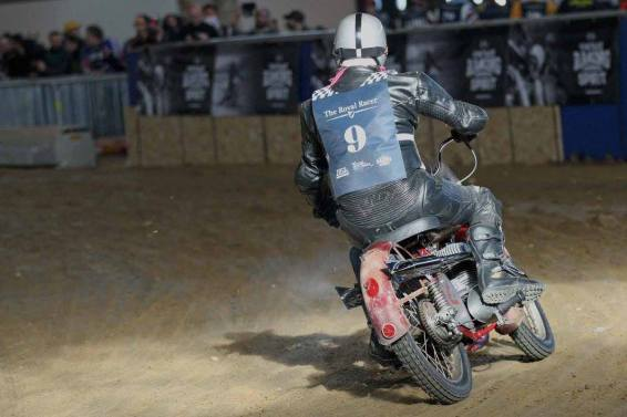 Flat Track Indoor - Vintage Racing Spirit - Ian Osborne 27